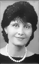Black and white photo of Norma Jean Vescovo, a Founder of the ILCSC and Executive Director for 40 years.